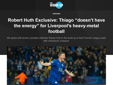 Robert Huth interviews with Compare.Bet