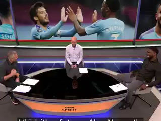 Micah Richards on BBC for Match of the Day