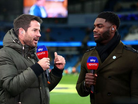 Micah Richards on Sky Sports Saturday Night Football