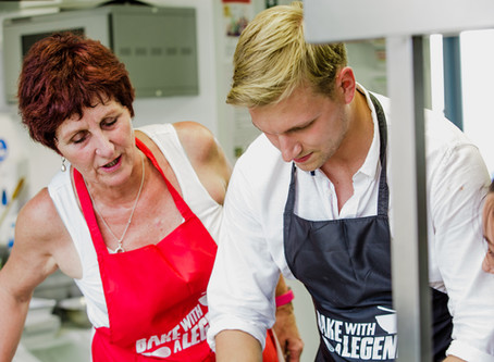 Jane Beedle reveals which contestant got a real buzz in the Bake Off tent!