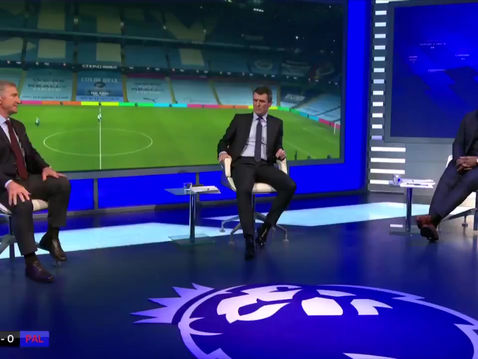 Micah Richards on Sky for the Triple Header
