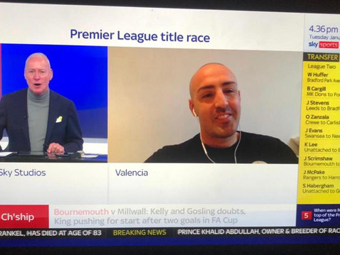 Jose Enrique joins Sky Sports News to Preview Liverpool vs Manchester United