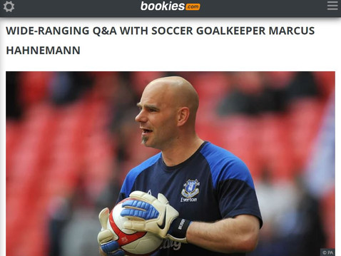Marcus Hahnemann features for bookies.com
