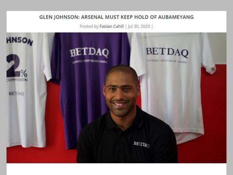 Glen Johnson's final column for BETDAQ
