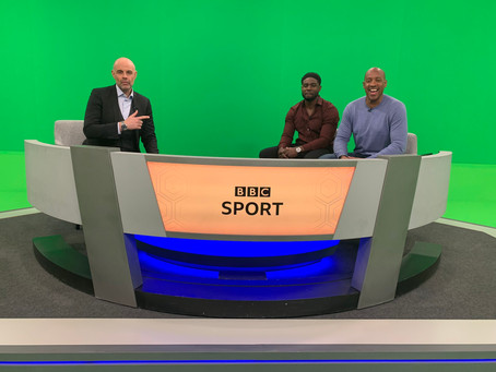 Micah Richards features on BBC Final Score alongside Dion Dublin
