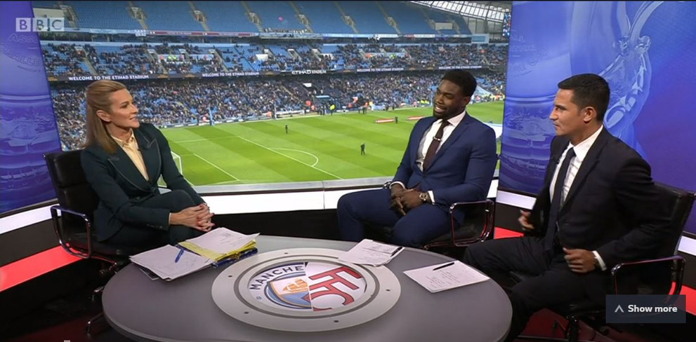 Micah Richards FA Cup 4th Round City vs Fulham