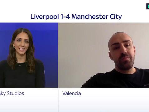 Jose Enrique on Sky Sports News