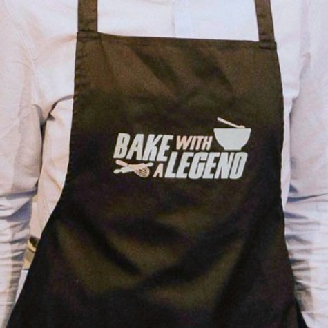 Bake With A Legend Apron