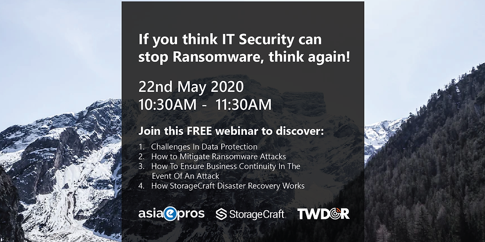 If You Think IT Security Can Stop Ransomware, Think Again!