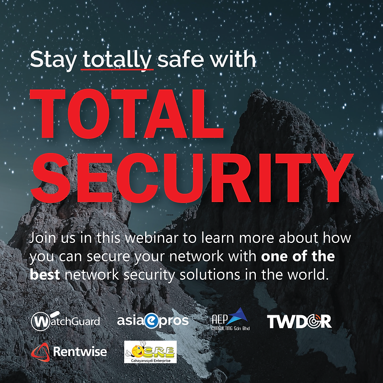 Stay Totally Safe with Total Security