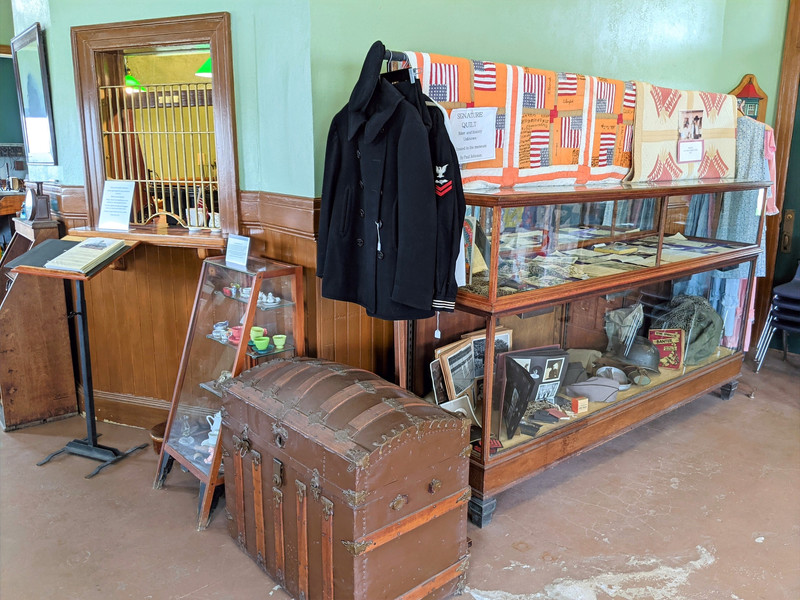 Rockdale area history display