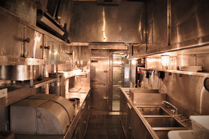 dining car kitchen