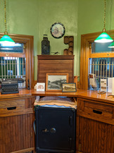 inside the ticket counter