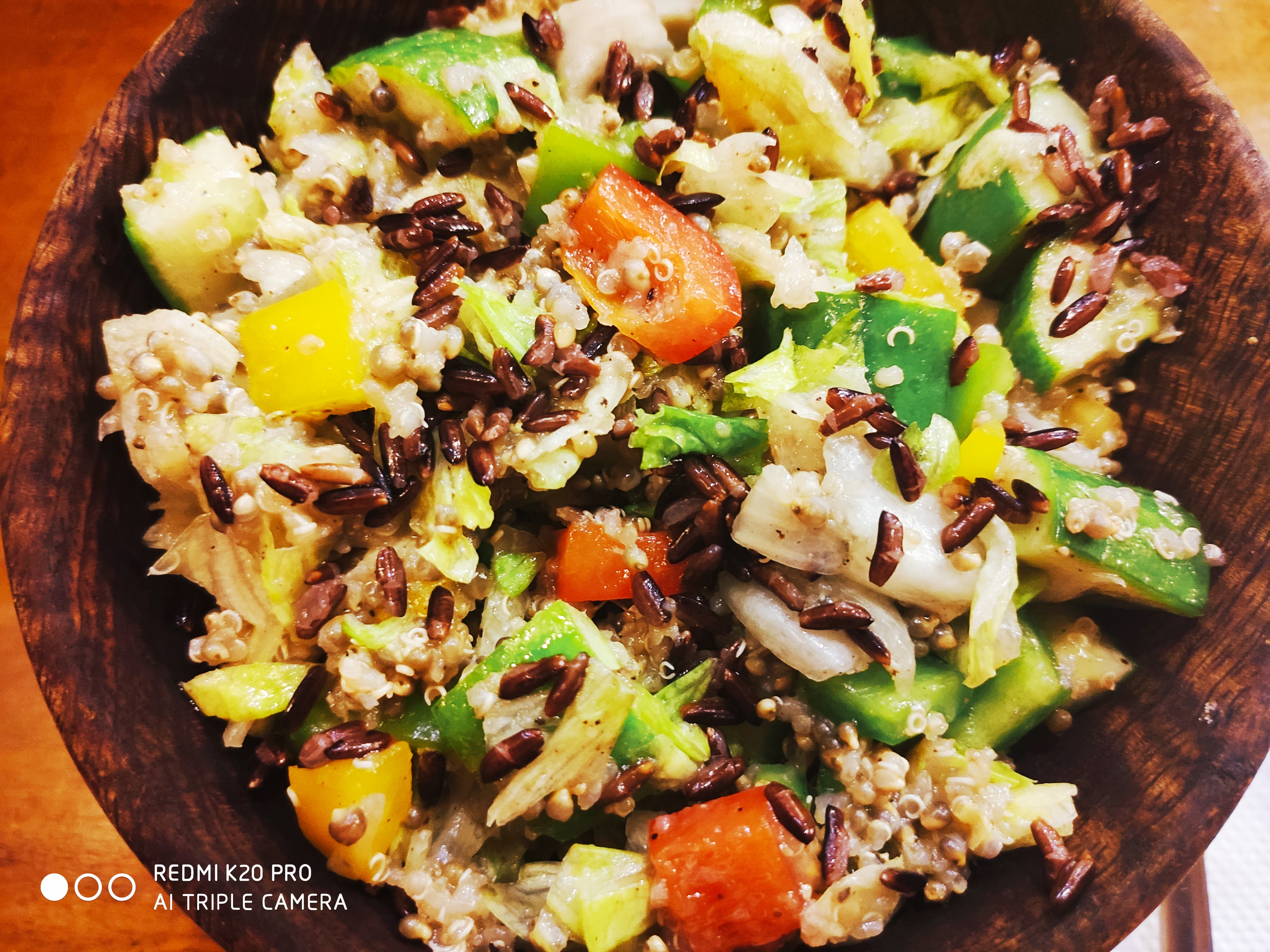 Pearl Millet with Quinoa Salad