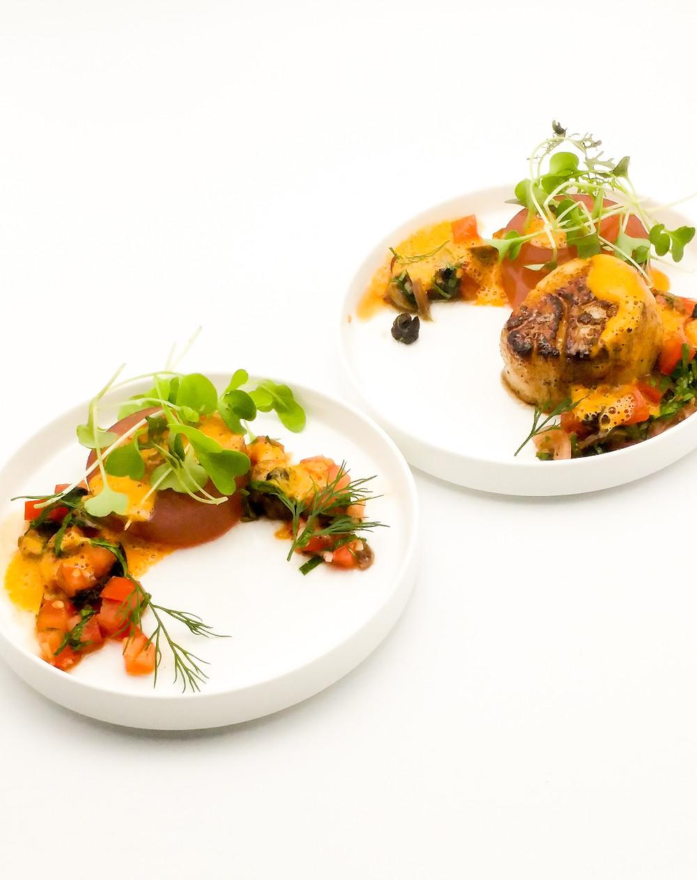 Chef Liebman's Scallop dish