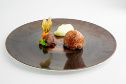 Plate from a private chef event in toronto