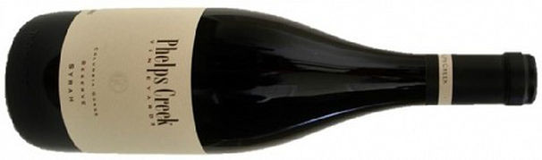 Phelps Creek Syrah, Columbia Gorge 2013