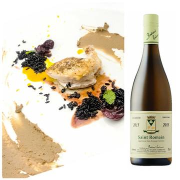 Spectrum- Roasted Cornish Hen & Liver Pâté paired with Ambroise Saint Romaine 2013