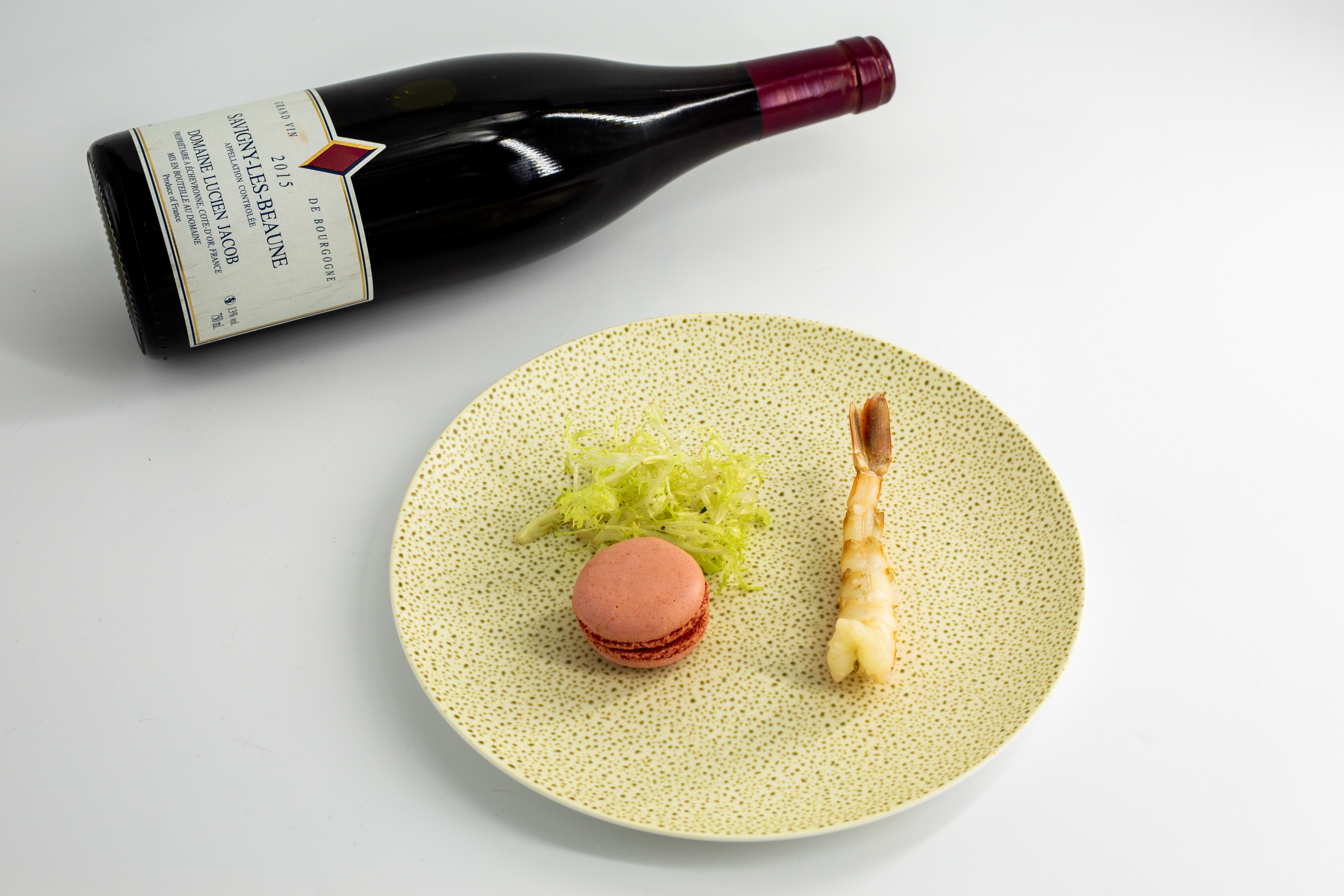 Food and wine pairing from a toronto event