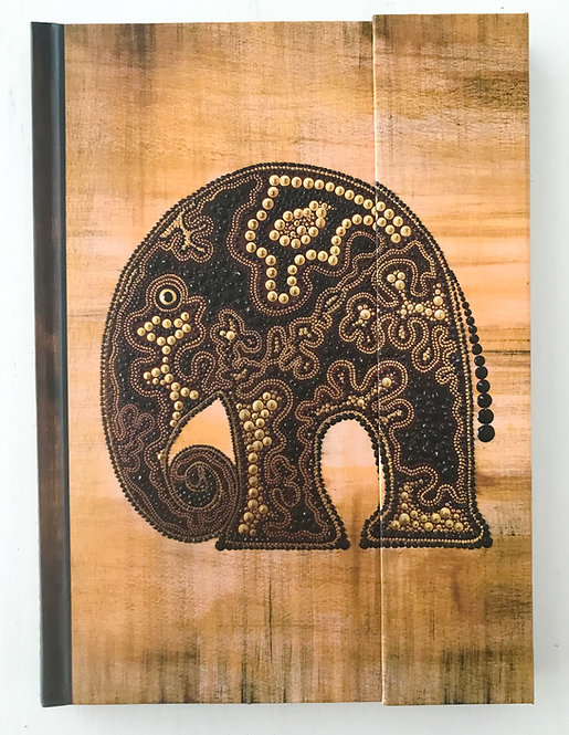 AfricanArt - Elefant ∞ Premium Notes Big