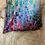 Thumbnail: Fluid Art - Mind-Body-Soul - Pillow -Kissen - 40 x 40 cm
