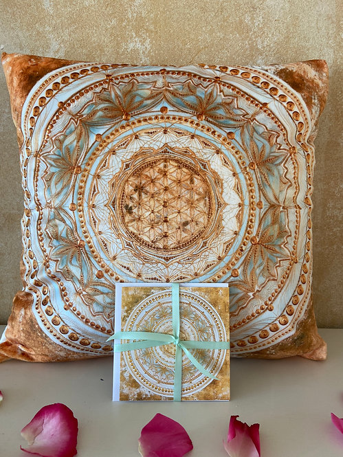 Spirit - cuddle pillow- Premium Kuschel Kissen 40x 40 cm