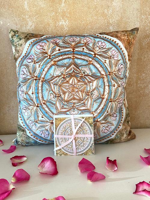 Love Blessing - cuddle pillow- Premium Kuschel Kissen 40 x 40 cm