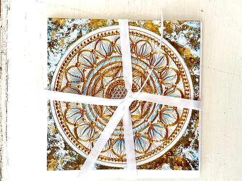 Enlightenment - greeting card - Glückwunschkarte