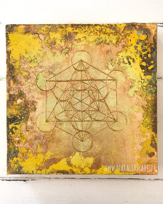 Heilige Geometrie ∞ Metatron's Würfel SOLD