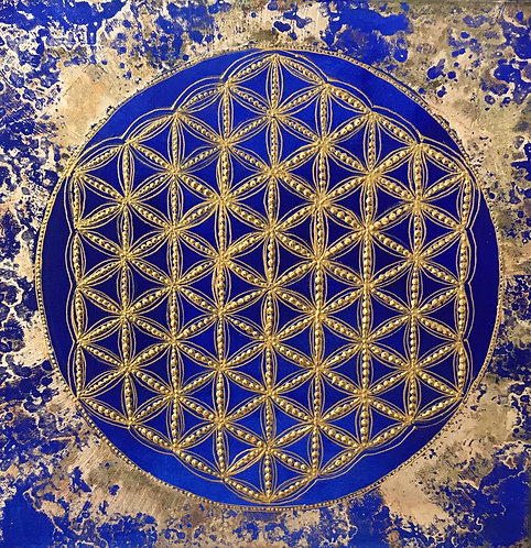 Mindfulness - flower of life 1,8 cm