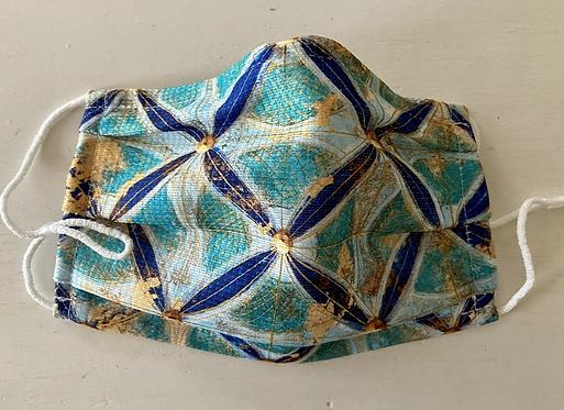 OEKOTEX 100 Cotton - the Mediterranean -   - behelfsmaske - mask -