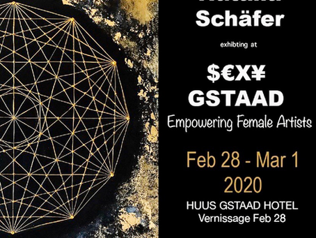 #safethedate #gstaad #art #exhibition
