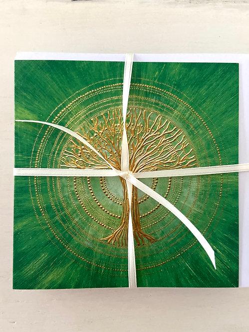 Mindfulness - tree of life 🌳- greeting card