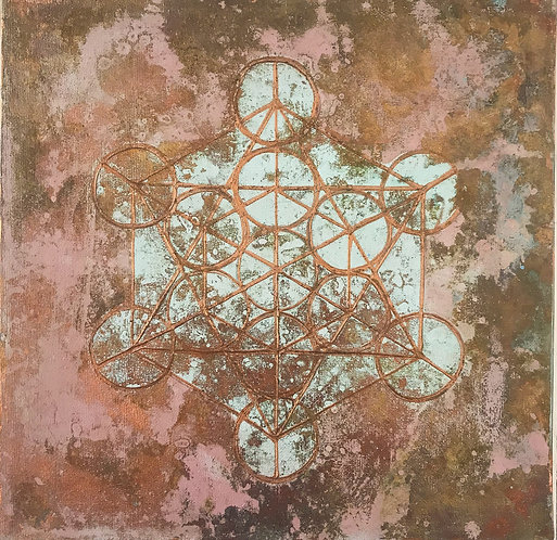 Mindfulness - clarity - metatron's cube sold