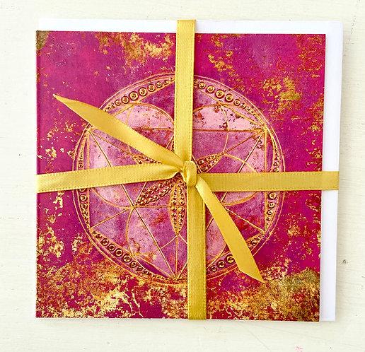 Mindfulness- Affection- greeting card - Glückwunschkarte