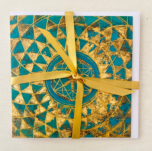 Mindfulness- Growing - greeting card - Glückwunschkarte