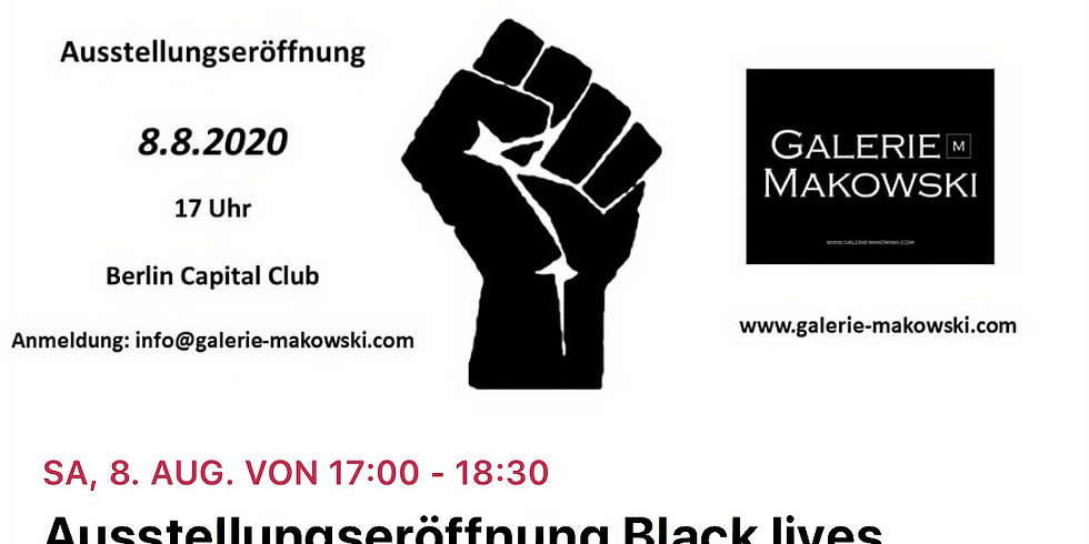 Black Lives Matter -No Chance For Racism