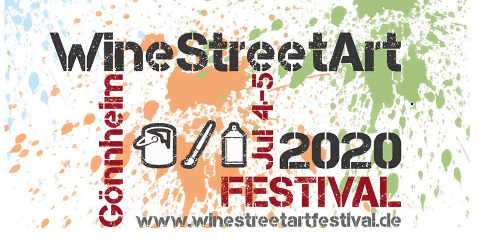 WineStreetArt Festival 2020 - ABGESAGT _ Cancelled