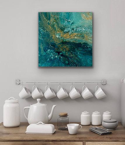 Ocean - experimental piece - draft - sold