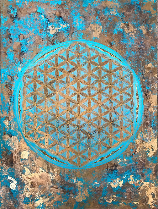 Flower of Life - Fullmoon- SOLD