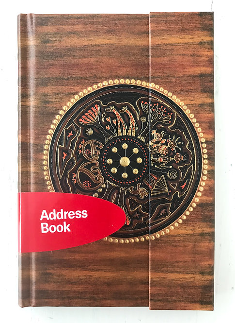AfricanArt Sweet Days ∞ Premium Address Book small