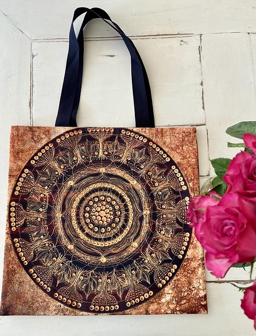 GAIA - Hochwertige Stofftasche 40 x 40 cm