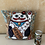 Thumbnail: Maneki Neko - cuddle pillow - Kissen 30 x 30 cm