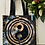 Thumbnail: Yin Yang Hochwertige Stofftasche 40 x 40 cm