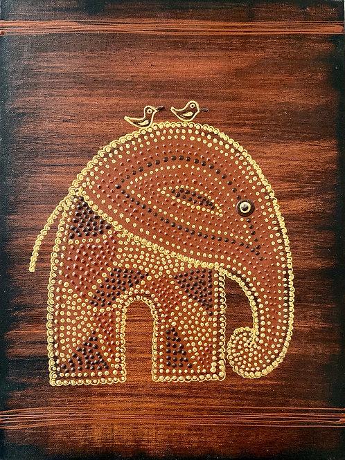 AfricanArt Elefant  -  letze Bilder aus der Reihe- Special Price!