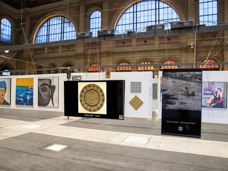 My art by Artbox.Project 1.0 in Zürich, August 2019