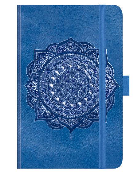 Indigo-Mandala 2021 ∞ Premium Timer Small ∞ Korsch Verlag