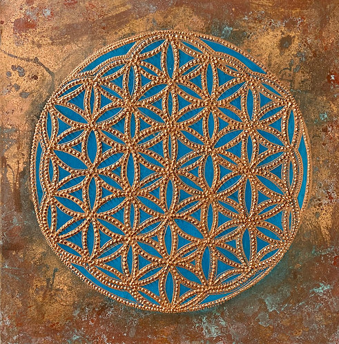 Mindfulness - Flower of life - Blume des Lebens -draft -Make an Offer - schlage