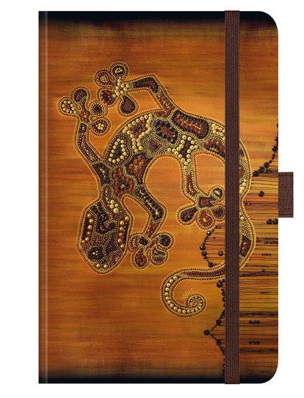 AfricanArt-Gecko ∞ Premium Notes Small ∞ Korsch Verlag