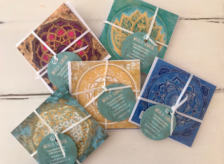 #Mindfulness greeting cards